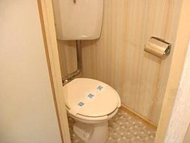 コーポサンフィールド トイレ