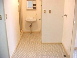 コーポサンフィールド 洗面所