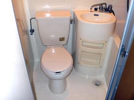 ハウスリバティヒルズ トイレ