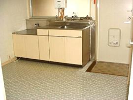 コーポサンフィールド キッチン
